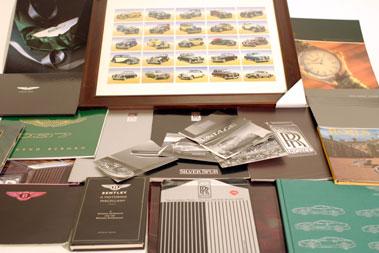 Lot 103-Aston Martin, Rolls-Royce & Bentley Ephemera