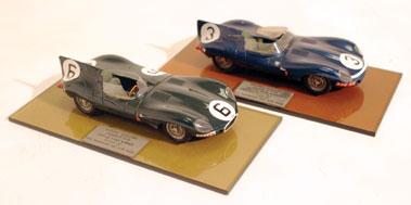Lot 208-Two Jaguar D-Type Models