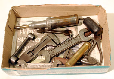Lot 308-Hand Tools Suitable for the Vintage Bentley