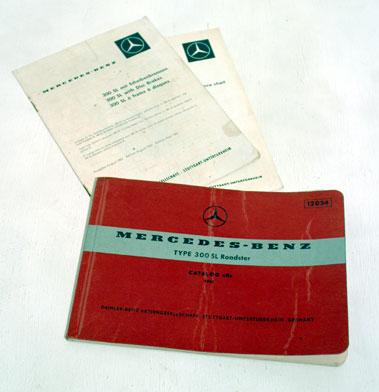 Lot 104-Mercedes Benz Type 300 SL (1961) Catalogue