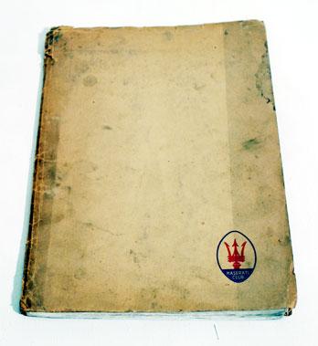 Lot 109-Maserati Mistral Use & Maintenance Book