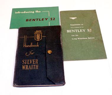 Lot 115-Rolls-Royce & Bentley Literature