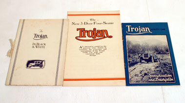 Lot 117-Three Pre-War Trojan Sales Brochures