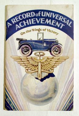 Lot 126-Austin 7 Achievement Brochure