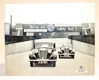 Lot 131-1937 MG Range Brochure
