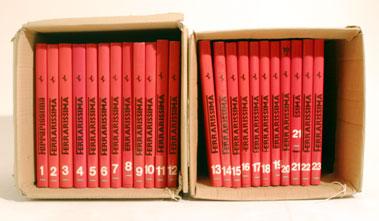 Lot 137-Ferrarissima Volumes 1 to 23