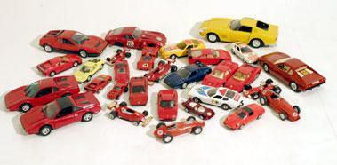 Lot 215-Quantity of Unboxed Ferrari Models