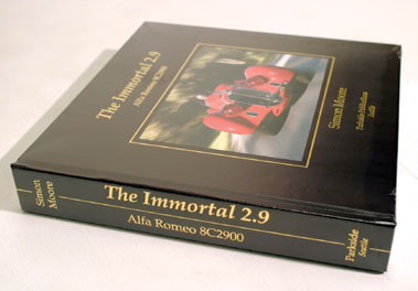 Lot 106-'The Immortal 2.9 Alfa Romeo 8C 2900' by Simon Moore