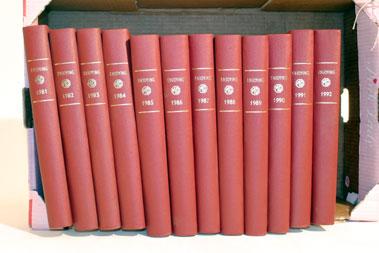 Lot 108-'Enjoying MG' Bound Volumes