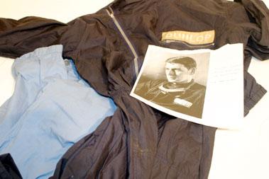 Lot 204-Les Leston Driving Suit