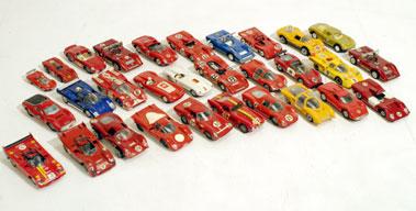 Lot 218-Thirty Racing Ferrari Models