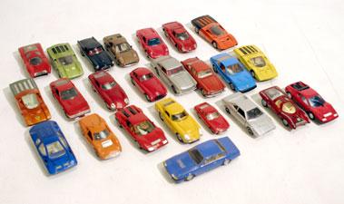 Lot 220-Twenty Four Ferrari Road Car Models