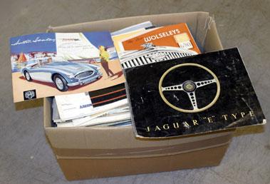 Lot 133-Quantity of Motorcar Sales Brochures