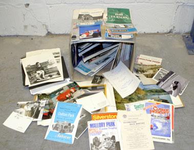 Lot 134-Programmes & Photographs