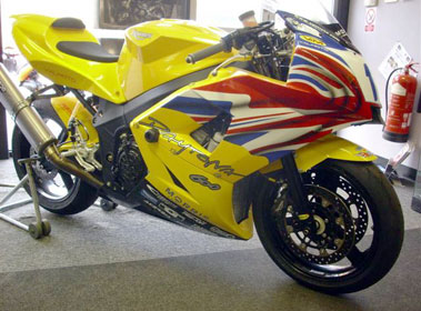 Lot 5-2003 Triumph Daytona 600