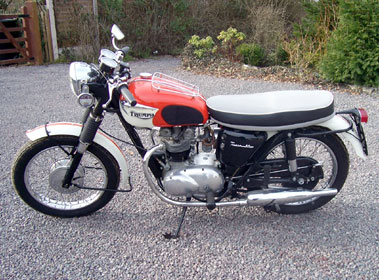 Lot 32-1966 Triumph T90 Tiger
