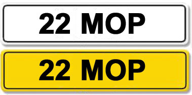 Lot 2 - Registration Number 22 MOP
