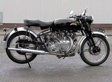 Lot 37-1953 Vincent Rapide Series C