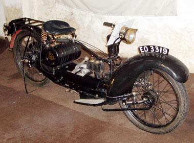 Lot 3-Ner-a-Car Motorcycle