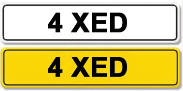 Lot 3-Registration Number 4 XED