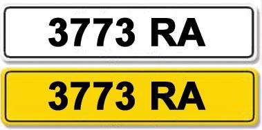 Lot 1-Registration Number 3773 RA