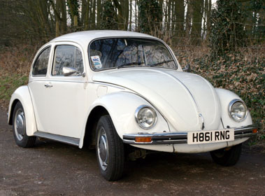 Lot 6-1990 Volkswagen Beetle 1600
