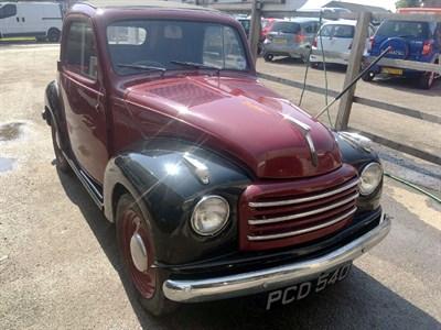 Lot 117-1955 Fiat 500 Topolino