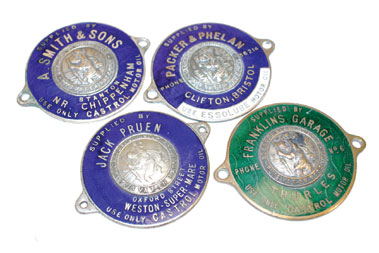 Lot 108-Four Dashboard Supplier's Plaques