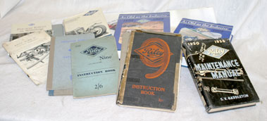 Lot 127-Assorted Riley Literature