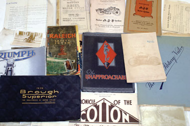 Lot 159-Early Motorcycle & Cycling Literature