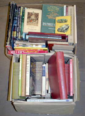 Lot 163-Two boxes of General Motoring Books