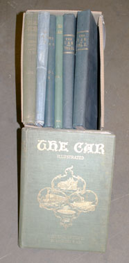 Lot 173-Seven Bound volumes of 'The Car'