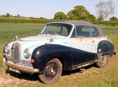 Lot 33-1953 Austin A40 Somerset Drophead Coupe