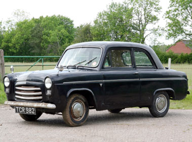Lot 35-1957 Ford Anglia 100E