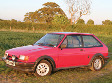 Lot 45-1986 Ford Fiesta XR2
