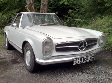 Lot 10-1968 Mercedes-Benz 250 SL
