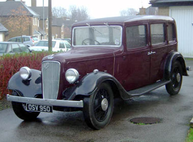 Lot 11-1936 Austin 18/6 York Saloon