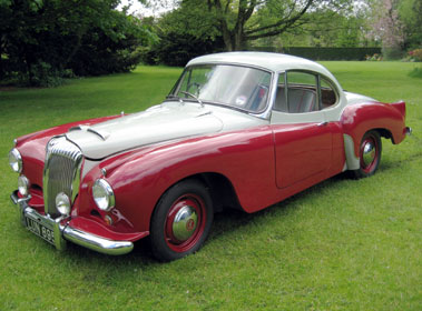 Lot 28-1955 Daimler Conquest Roadster Fixed Head Coupe