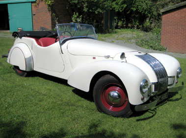 Lot 29-1949 Allard L-Type Tourer