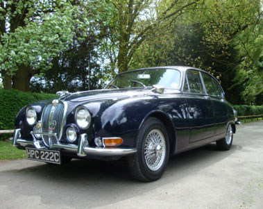 Lot 86-1965 Jaguar S-Type 3.8 Litre