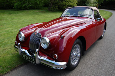 Lot 8-1958 Jaguar XK150 3.4 Litre Roadster