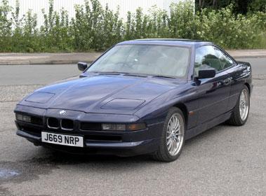 Lot 25-1992 BMW 850i