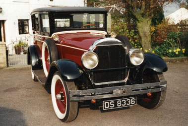 Lot 90-1928 Locomobile 8/70 Four-Door Sedan