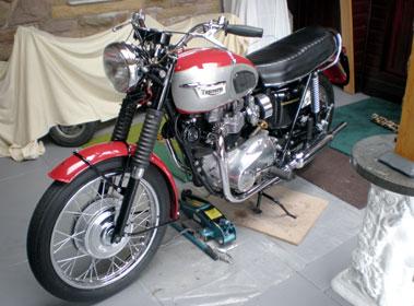 Lot 4-1970 Triumph T120 Bonneville
