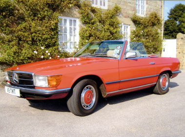 Lot 48-1985 Mercedes-Benz 380 SL