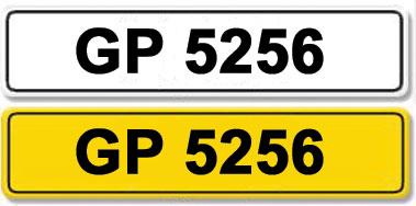 Lot 1-Registration Number GP 5256