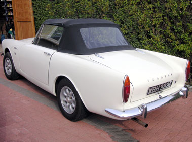 Lot 20-1967 Sunbeam Alpine Series V
