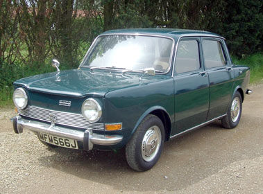 Lot 14-1971 Simca 1000 LS