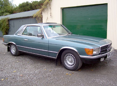 Lot 89-1981 Mercedes-Benz 380 SLC