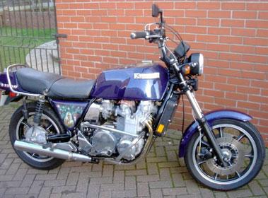 Lot 6-1982 Kawasaki KZ1300